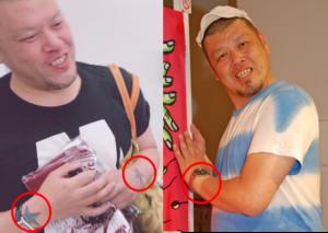 野生爆弾 くっきー 刺青