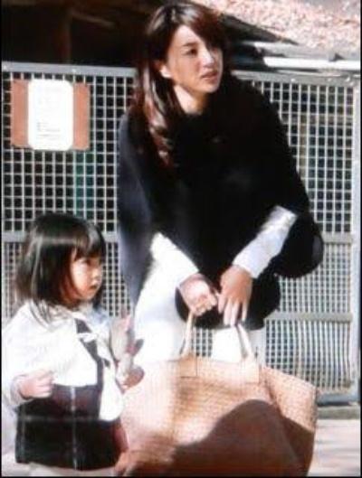 井川遥とその子供