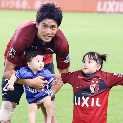 内田篤人とその子供