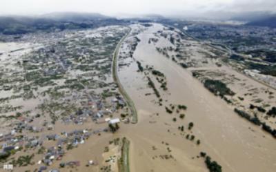 千曲川の氾濫