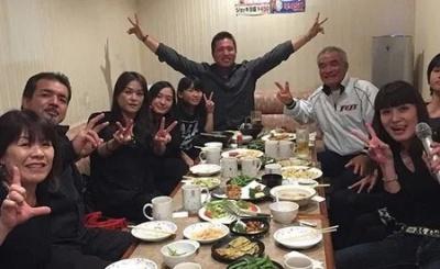 山川穂高家族の写真