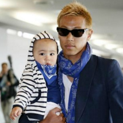 本田圭佑とその子供