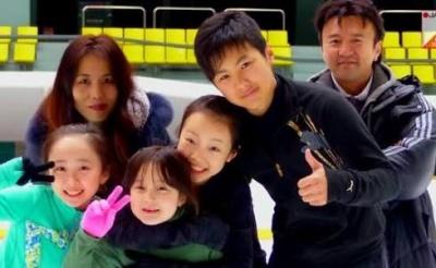 本田家の家族写真