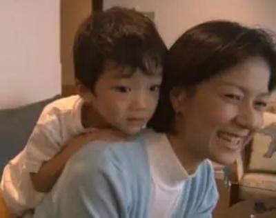 野村千恵子と息子