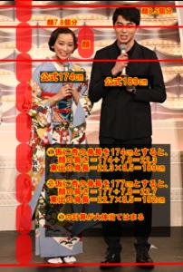 杏 身長 逆サバ読み 177