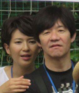 内村光良と妻の徳永有美