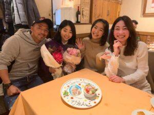 小野伸二の家族写真