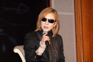 yoshiki 記者会見 hide 死因